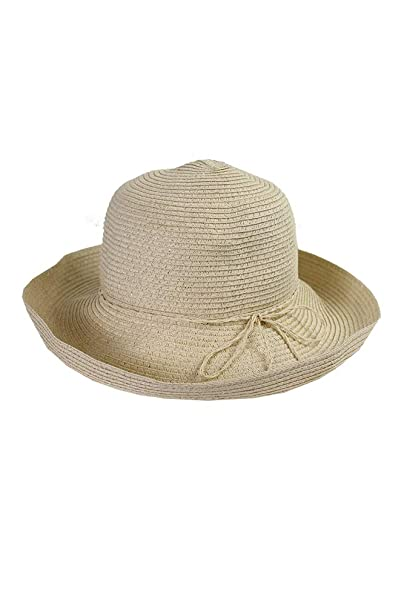 0cb5e30d1163d Image Unavailable. Image not available for. Color  August Hat Company  Women s Classic Toyo Kettle Hat Natural
