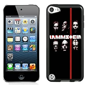 NEW Unique Custom Designed iPod Touch 5 Phone Case With Rammstein Rock Band_Black Phone Case