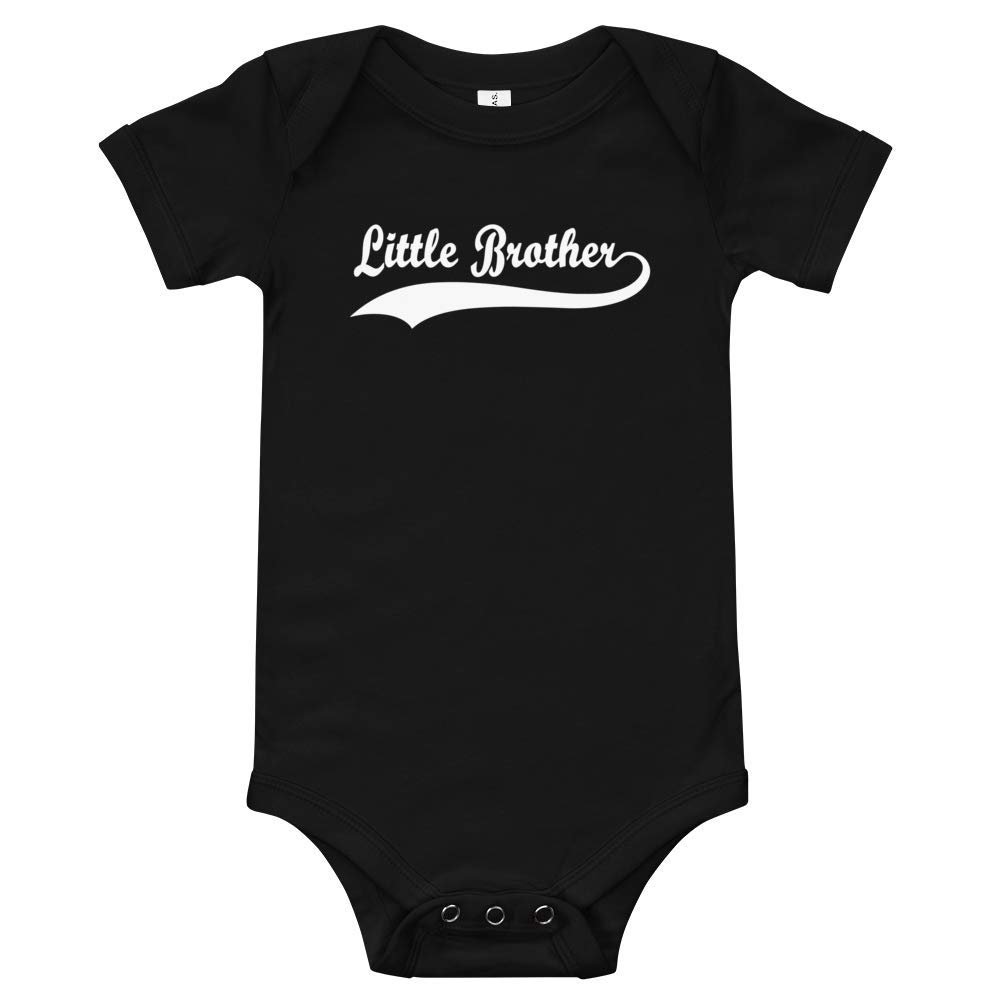 Airbabyy Little Brother Toddler//Baby Boys Onesie