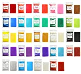 Mica Powder for Bath Bombs - Soap Making Colorants Set - Pigment Powder for Slime - Coloring for Bath Bombs - Hand Soap Making Supplies - 24 Color Soap Dye - Cosmetic Grade Colorant (0.18 oz 24 Bags)