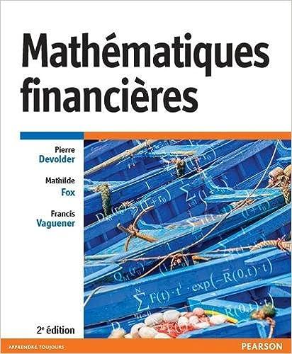 Télécharger en ligne Mathématiques financières 2e édition epub pdf