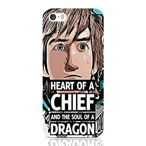 Loud Universe Hiccup Quote iPhone SE Case how to train your dragon iPhone SE Cover with 3d Wrap around Edges