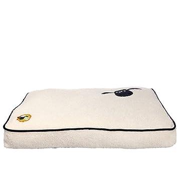 Trixie Perros Cojín de Oveja Shaun Cama para Perros Camilla Espacio Soft Peluche, 60 × 40 cm (36870): Amazon.es: Productos para mascotas