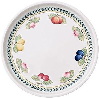 Legno Relaxdays 10020234 Set di 2 Vassoio da Portata 31x45x5.5 cm Marrone