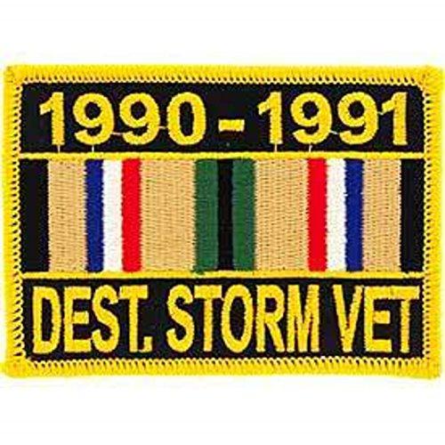 Desert Storm Veteran Service Ribbon Patch 1990-1991 Military Collectibles Desert Storm Vet Patch
