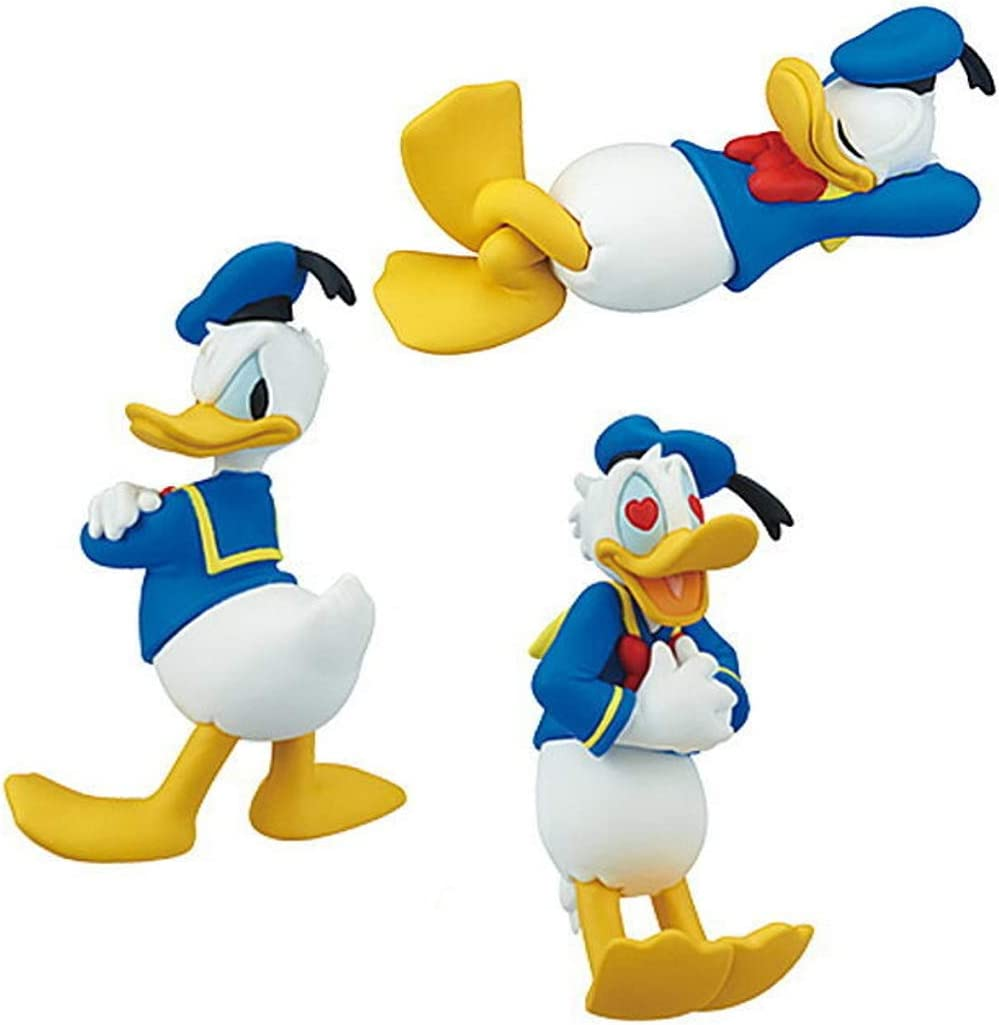 TAKARATOMYARTS Pato Donald 3 Figuras Donal Duck Emociones Amor ...
