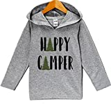 Custom Party Shop Kids Happy Camper Outdoors Hoodie 4T