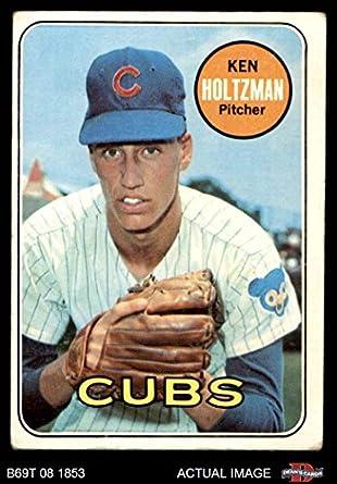 Amazoncom 1969 Topps 288 Ken Holtzman Chicago Cubs