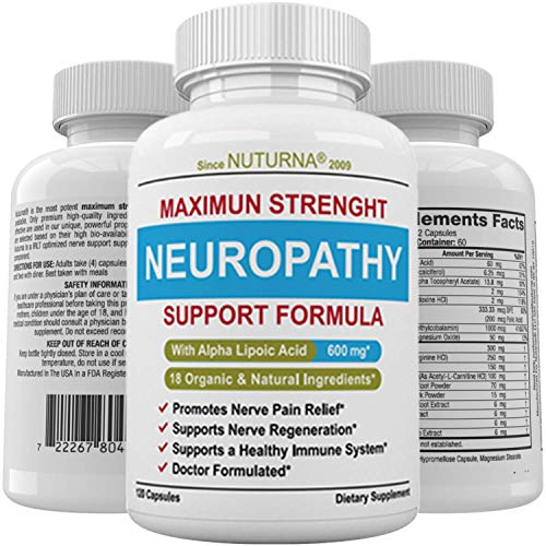 Neuropathy Support Supplement Nerve