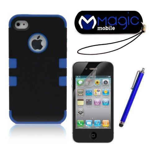 iPhone 4S Case, iPhone 4 Case, MagicMobile Hybrid Impact Shockproof ...