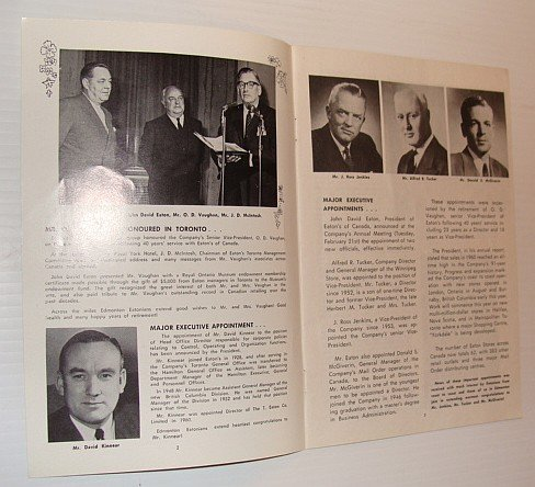 The Edmontonian, March 1961 - Published monthly in the interests of employees of the T. Eaton Co., Western Ltd., - Edmonton Eaton