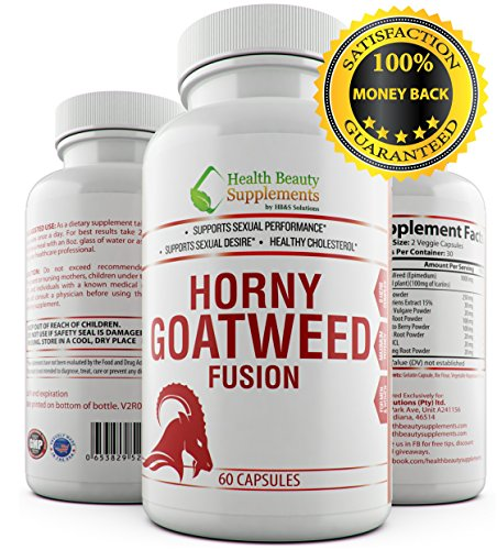 Natural Male Enhancer - * EXTREME HORNY GOAT WEED FUSION -FOR MEN & WOMEN - Top Rated - Libido Enhancer For Women - Libido Enhancer For Women - Horny Goat Weed With Maca - Horny Goat Weed Extract