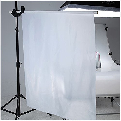 Light Tent Fabric - Selens 1 Yard x 67 Inch / 1M x 1.7M Diffusion Fabric Nylon Silk White Seamless Light Modifier for Photography Lighting, Softbox and Light Tents