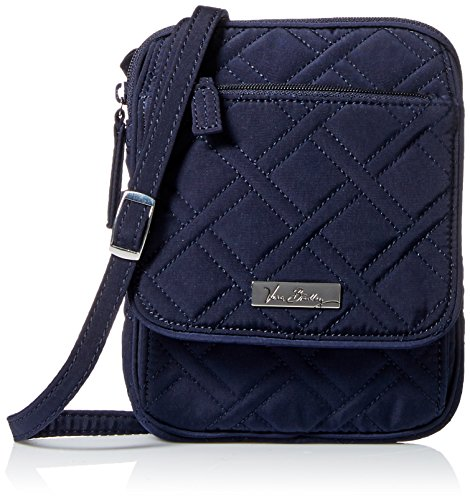 Vera Bradley Mini Hipster Cross Body, Classic Navy, One Size - Vera Bradley Mini Hipster