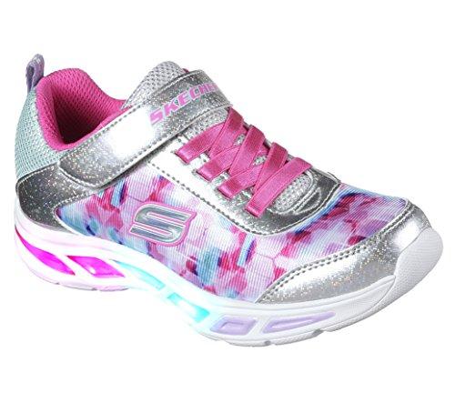 89ee336b2eb2 Galleon - Skechers Kids Girls  Litebeams-Dance N Glow Sneaker