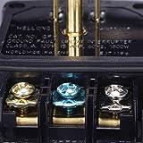WELLONG GFCI Plug Replacement 15 Amp 3 Prong GFI