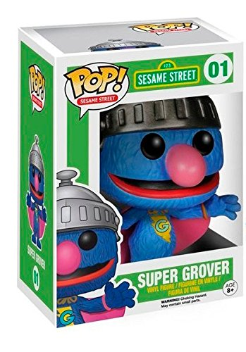 Funko Pop! No 1 Super Grover