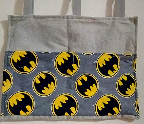 Batman Symbol Bag Pouch Storage Walker Wheelchair Stroller Grocery Cart etc. from Craft and Sewing Box