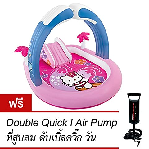 Intex Hello Kitty Play Center (Free Double Quick I Air Pump) (Intex Fantasy Castle Play Center)
