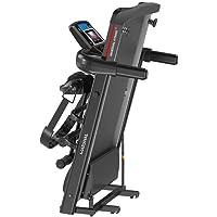 Marshal  fitness  Fordable Jogging Machine  With Belt Massgar  Home Use space Saving TreadmilMFLA-132-4WAY , Multi Color