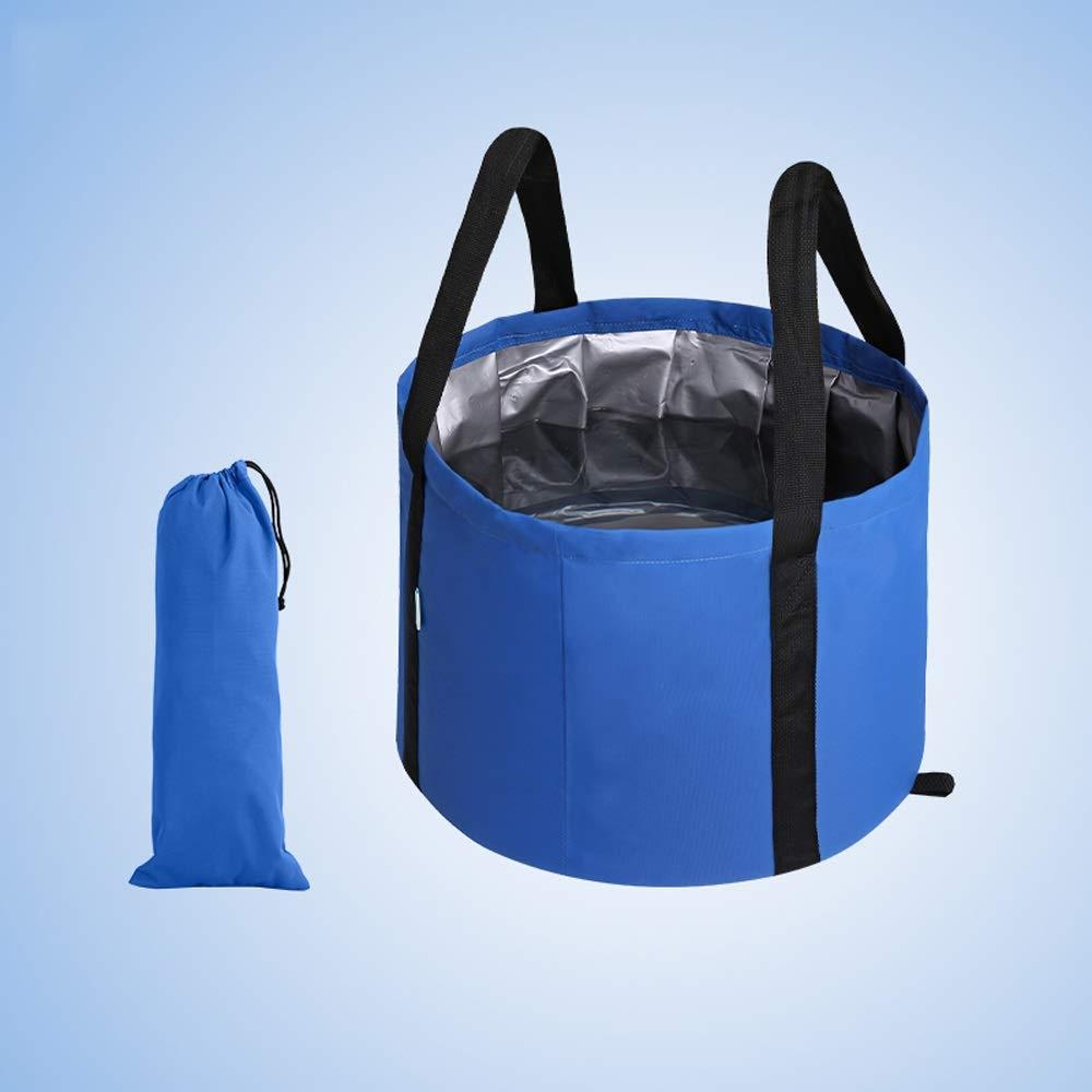 Miyabitors Portable Collapsible Washbasin Large Travel Bubble Bag Laundry Tub Child Bath Washbasin Washbasin Bucket by Miyabitors