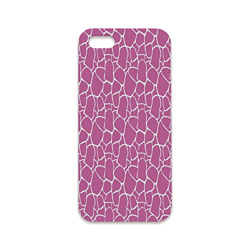 Phone Case Compatible with iPhone6 Plus iPhone6s Plus 3D Print,Hot Pink,Abstract Giraffe Skin Pattern Vivid Color Exotic Animal Camouflage Safari Jungle,Pink White,Customized Phone Case ()