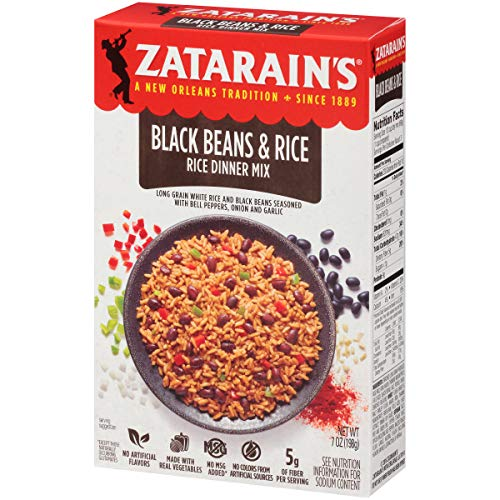 Zatarain's Zatarain's Black Beans & Rice Rice Dinner Mix, 7 oz