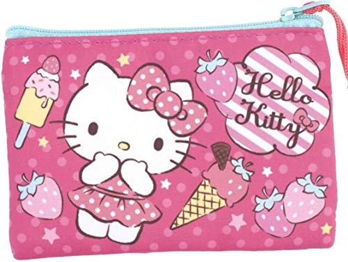 Hello Kitty Flat Pouch Card Money Purse Wallet