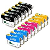 EBBO 200XL Compatible Ink Cartridge Replacement for Epson 200 XL, High Yield 3 Set + 3 Black, for Epson Expression Home XP-200 XP-300 XP-310 XP-400 XP-410, WorkForce WF-2540 WF-2520 WF-2530 WF-2010W