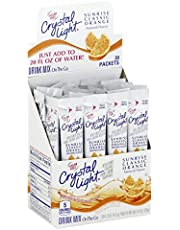 Crystal Light Sunrise Orange Drink Mix (120 On The Go Packets, 4 Boxes of 30)