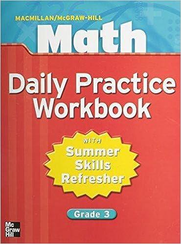 mcgraw hill 3rd grade math practice