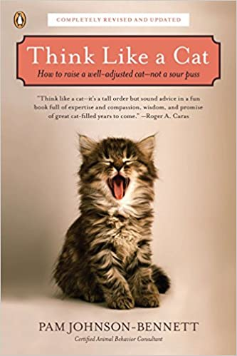 best cat training books - Think like a cat