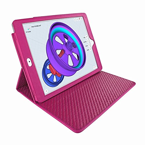 Piel Frama 786 Pink Cinema Magnetic Leather Case for Apple iPad Pro 10.5'' by Piel Frama