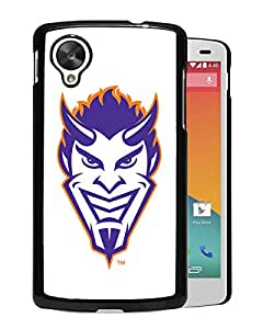 NCAA Northwestern State Demons 04 Black Google Nexus 5 Protective Phone Cover Case