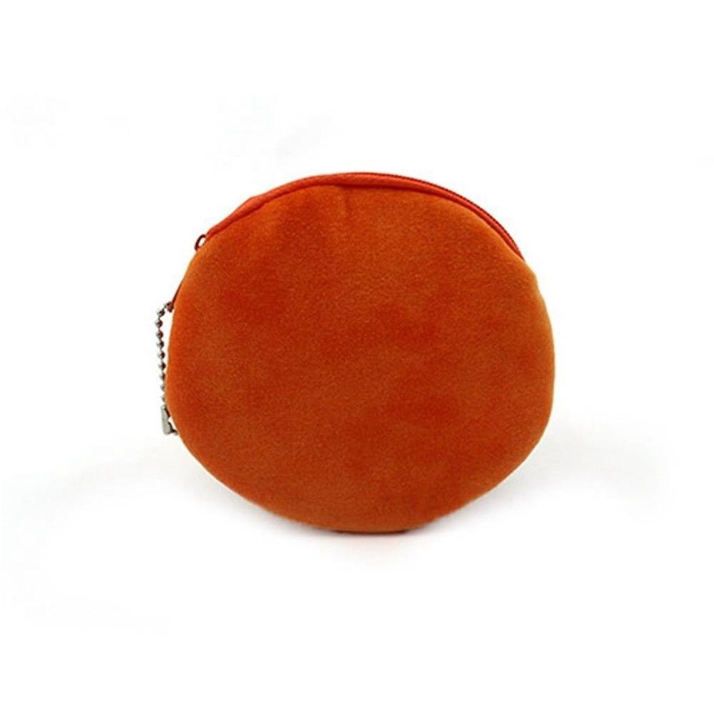 Plush Mini Wallet Children Basketball//Football Zipper Bag 3D Printed Purse