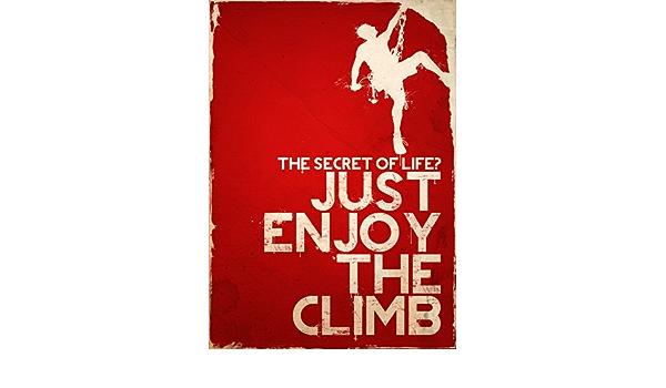 Cartel de escalada, espeleología Póster, A3 Poster 29,7 cm x ...