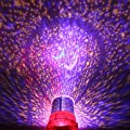 DIY Romantic Galaxy Simulator Starry Sky Projector Night Light for Celebrate Christmas Festival Creative Gifts