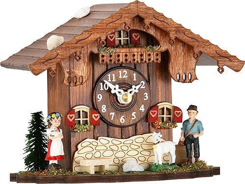 Trenkle Uhren Mantel-clock with quartz movement and cuckoo chime TU 084 (Mantel Cuckoo Clock)