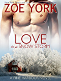 Love in a Snow Storm: The Soldier and His Best Friend's Little Sister (Pine Harbour Book 2)