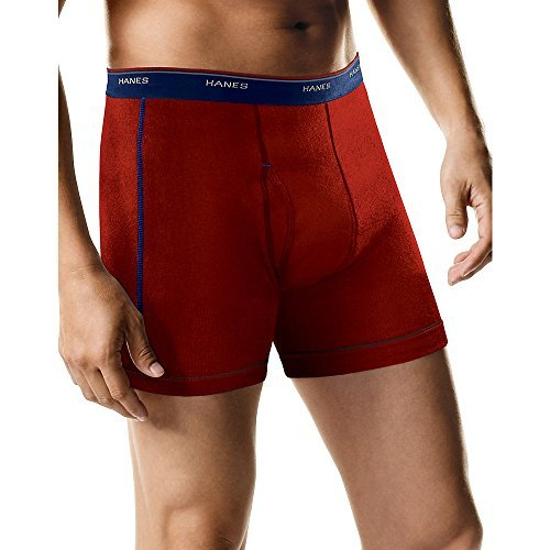 Comfort Waistband - Hanes Sport Boxer Brief with Comfort Waistband 5-Pack,Assorted,XL