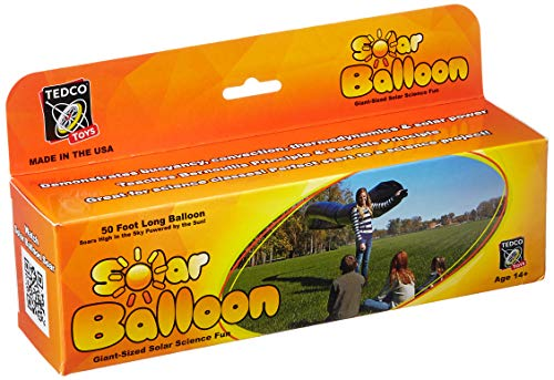TEDCO Tedcotoys Kids Activity 50-Foot Solar Balloon (Ufo Balloon)