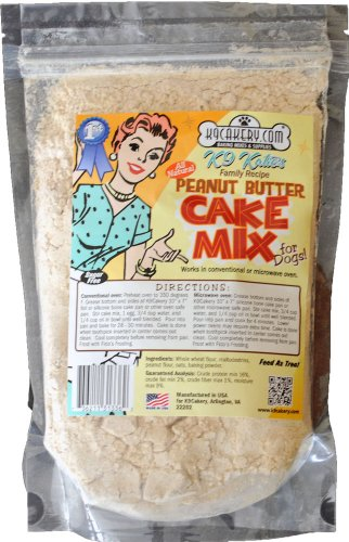 K9Cakery All Natural Peanut Butter Cake Mix, My Pet Supplies