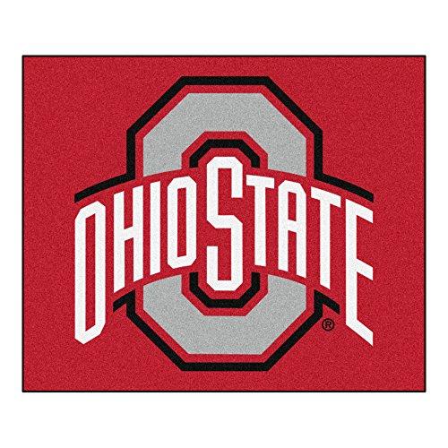 - NCAA Ohio State University Buckeyes Tailgater Mat Rectangular Outdoor Area Rug