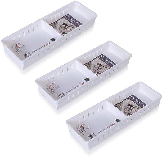 QAQWER Organizador Caja bandejas, Home Office Almacenamiento ...