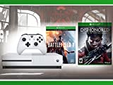 Xbox One S 500 GB Battlefield 1 Console + Dishonored : The Death of the Outsider + WWE 2K16 Bundle ( 3 - Items )