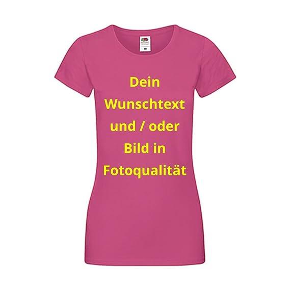 new arrivals 71555 c8697 Damen T-Shirt Bedrucken - Text und Bild bis A3 individuell auf Ihr T-Shirt  Drucken Lassen | Personalisiert