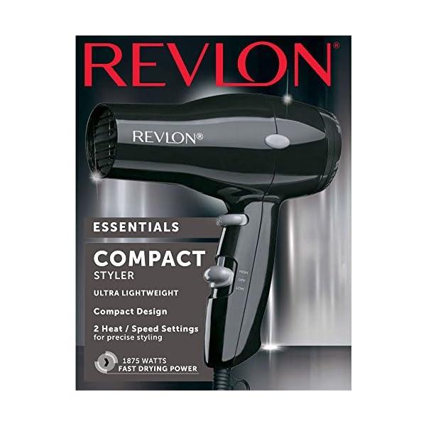 Revlon-1875W-Compact-Lightweight-Hair-Dryer-Black