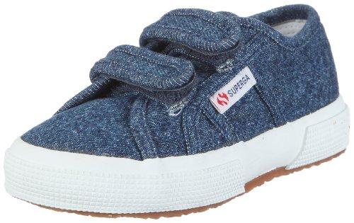 Superga 2750-JNVJ Classic GS0004N0K - Zapatillas para niños, color azul, talla 31 Blue