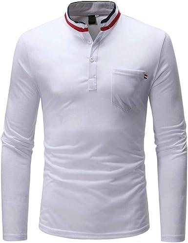 Camisas De Manga Larga para Otoño Hilfiger Hombre Modernas Casual Sudadera con Capucha De Color Puro