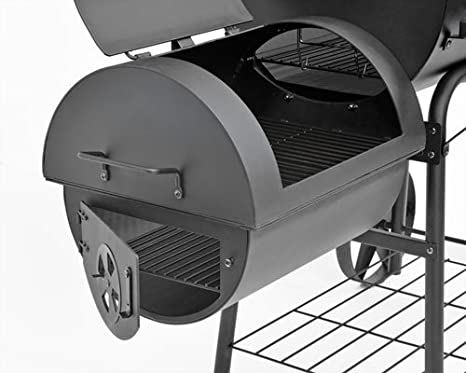 profi xxl 90kg smoker bbq grillwagen bbq smoker freizeit. Black Bedroom Furniture Sets. Home Design Ideas